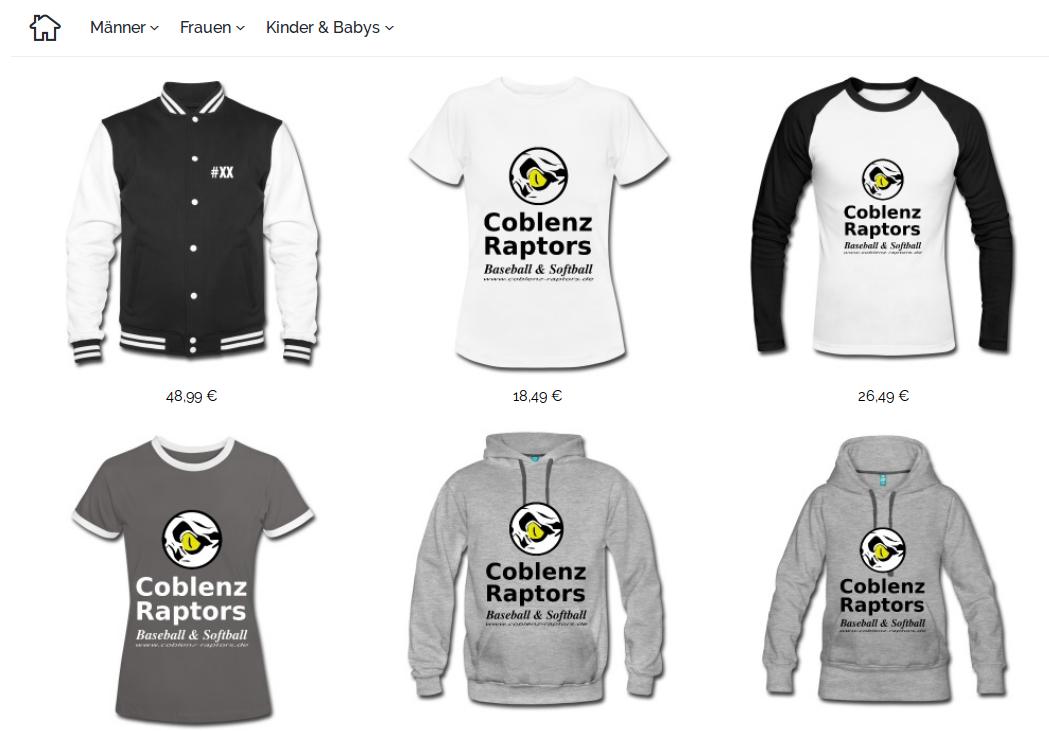 Raptors Fanshop wiedereröffnet!